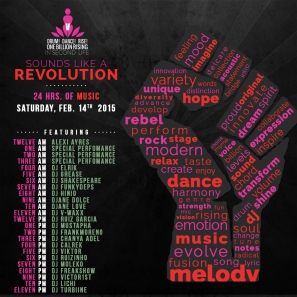 OBR in SL Music Revolution Flyer 2015