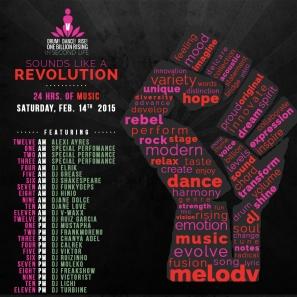 OBR in SL Music Revolution Flyer 2015