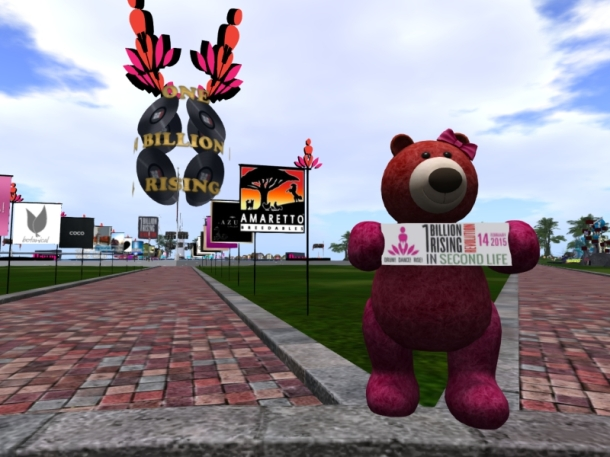 A Bear at One Billion Rising